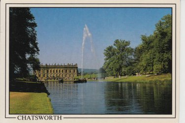Chatsworth Lake Postcard. Mauritron 214325