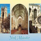 York Minster Multiview Postcard. Mauritron 214374