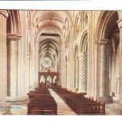 Durham Cathedral Nave East Postcard. Mauritron 220657