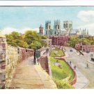 City Walls Minster York Postcard. Mauritron 220665