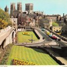 York Minster from City Walls Postcard. Mauritron 220680