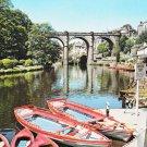 Knaresborough River Nidd Postcard. Mauritron 220681