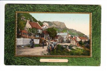 Runswick Yorkshire Postcard. Mauritron 220684