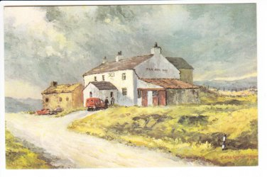 Tan Hill Inn Yorkshire Postcard. Mauritron 220693