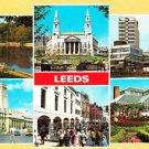 Leeds Multiview Six Scenes Postcard. Mauritron 220708