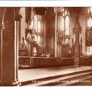 Altar Saxon Cross Parish Church Leeds Postcard. Mauritron 220721