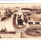 Good Luck Southsea Multiview Postcard. Mauritron 220726
