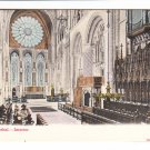Durham Cathedral Interior Postcard. Mauritron 248299