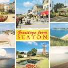 Greetings from Seaton Multiview Postcard. Mauritron 248309
