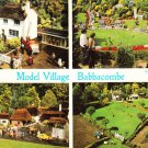 Model Village Babbacombe. See back image Postcard. Mauritron 248310
