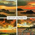 Devon Sunsets Multiview Postcard. Mauritron 248313