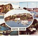 Picturesque South Devon Multiview Postcard. Mauritron 248318