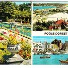 Poole Dorset Multiview Postcard. Mauritron 248345