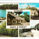 Picturesque Hants & Dorset Multiview Postcard. Mauritron 248348