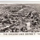 The English Lake District Aerial Map View Postcard. Mauritron 248412