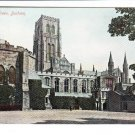 College Green Durham Old Card with Stamp Postcard. Mauritron 248454