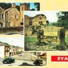 Eyam Multiview Derbyshire Postcard. Mauritron 248460