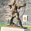 Robin Hood Statue Nottingham Postcard. Mauritron 249755