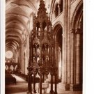 The Font Durham Cathedral Postcard. Mauritron 249762