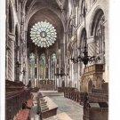 Cathedral Choir East Durham Postcard. Mauritron 249769