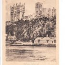 Durham Cathedral Old Card Postcard. Mauritron 249772