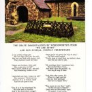 Wordsworth Poem Grave We are Seven Postcard. Mauritron 249776