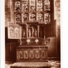 Reredos in Chapel Durham Castle Postcard. Mauritron 249782