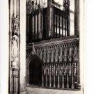York Minster The Great Choir Screen Postcard. Mauritron 249817