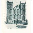 Ripon Cathedral Yorkshire Postcard. Mauritron 249820