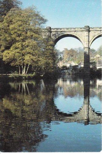 The Railway Bridge at Knaresborough Postcard. Mauritron 249825