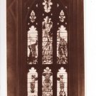 King George Window Winchester Cathedral Postcard. Mauritron 249834
