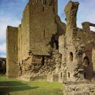 Middleham Castle Keep from East. Yorkshire Postcard. Mauritron 249848