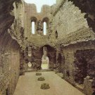 Middleham Castle Interior of Keep. Yorkshire Postcard. Mauritron 249849