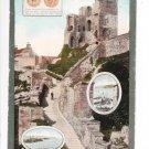 Scarborough Castle Colour Dated 1910 Postcard. Mauritron 249859