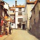 Station Road Robin Hoods Bay Yorkshire Postcard. Mauritron 249860