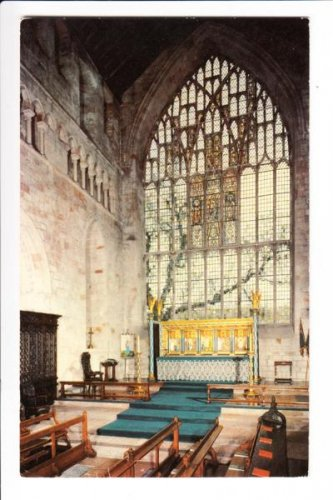 Cartmel Priory The Chancel Postcard. Mauritron 249874