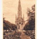 Scott Mont East Princes Gardens Edinburgh Postcard. Mauritron 249894