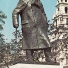 Sir Winston Church Statue London Postcard. Mauritron 249896