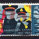 GB QE II Stamp 1965 Salvation Army 3d MFU SG665 Mauritron 78019