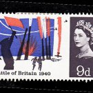 GB QE II Stamp 1965 Battle of Britain 9d MM SG677 Mauritron 78026