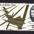 GB QE II Stamp 1965 Battle of Britain 4d MFU SG671 Mauritron 78027