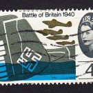GB QE II Stamp 1965 Battle of Britain 4d MFU SG676 Mauritron 78029