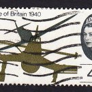 GB QE II Stamp 1965 Battle of Britain 4d MFU SG675 Mauritron 78031