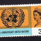 GB QE II Stamp 1965 United Nations 3d MM SG681 Mauritron 78034
