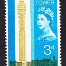 GB QE II Stamp 1965 Post Office Tower 3d MM Mauritron 78038