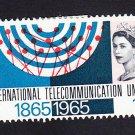 GB QE II Stamp 1965 ITU Centenary 1/6d MM Mauritron 78041