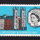 GB QE II Stamp 1966 Westminster Abbey 3d MM SG687 Mauritron 78048
