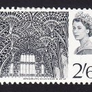 GB QE II Stamp 1966 Westminster Abbey 2/6d MM SG688 Mauritron 78049