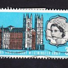GB QE II Stamp 1966 Westminster Abbey 3d MFU SG687 Mauritron 78051