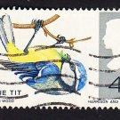 GB QE II Stamp 1966 Birds 4d MFU PHOS SG697P Mauritron 78068
